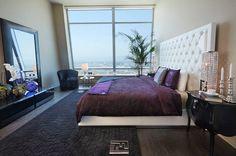 Penthouse of Ritz Carlton LA. A little bit of funk, but still elegant. www.fendi.com