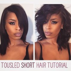 """My short hair tutorial is posted on my YOUTUBE Channel!!!! ❤️✂️ So excited to share some of my favorite hair products with you guys!!!! Go check it out! Link in my bio!"" Photo taken by @glam_qui on Instagram, pinned via the InstaPin iOS App! http://www.instapinapp.com (01/14/2015)"