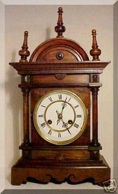 antique clock circa 1880