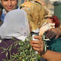 Zeytinle başak buluştu, Kürt ve Yörük anaları kucaklaştı. İzmir-Gündoğdu 1 Eylül 2015 Fotoğraf: DİHA -Selman Çiçek