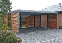 Garage mit carport flachdach  Carport 7» | Carport | Pinterest | Car ports, Carport ideas and House