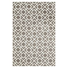 Showcasing a bold geometric motif, this eye-catching rug brings striking style to your living room or den.    Product: Rug