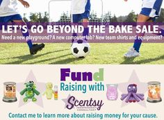 Did you know SCENTSY does FUNDRAISERS? There are many different ways to do a Scentsy Fundraiser! Full Product FR, Scent Circle FR, Car Bar FR, Buddy Clip FR, & more! Contact me today to start making money for you organization, school, church, etc.!!!!!