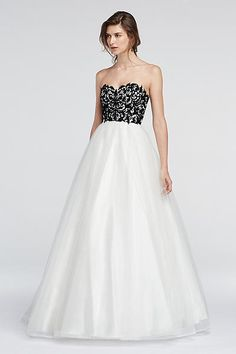 Lace Prom Dresses & Beautiful Lace Gowns - David's Bridal