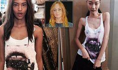 Furore over Stella McCartney's skeleton-chic model
