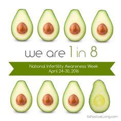 Pin via Meredith Hodge for National Infertility Awareness Week. #NIAW