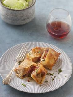 Croustillant de magret de canard au foie gras et figues : Recette de Croustillant de magret de canard au foie gras et figues - Marmiton