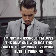 Not an asshole