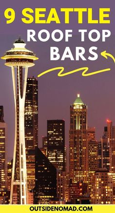 Take in the best views of Seattle at these unique, trendy, and downright cool Seattle Rooftop Bars. Grab a craft cocktail and sip on Seattle's best views. Usa Travel Guide, Travel Usa, Travel Tips, Free Travel, Cheap Travel, Paris Travel, Budget Travel, Travel Guides, Visiting Seattle