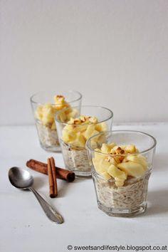 Veganer Milchreis mit Apfel obendrauf