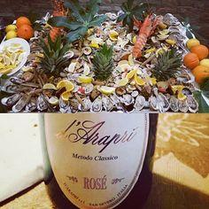 #fruttidimare a iosa e #bollicine #rosé da #montepulciano e #pinotnoir