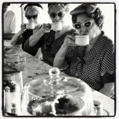 Vintage☕ There's nothing like sitting at the counter of your favorite coffee shop with all your girlfriends.  T G and Y or Woolworth's?