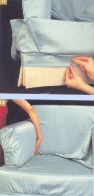 Как сшить красивые и удобные чехлы на мебель. Чехлы на мягкие диваны и кресла. Часть 2. Раскрой и пошив.