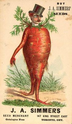 vegetables personified - Google Search