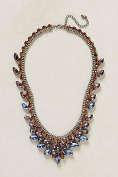 Sapphire Flames Necklace