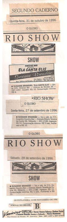 1996 - O GLOBO