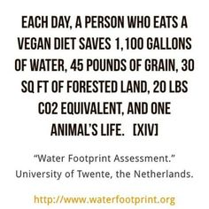 more reasons to go #vegan. if you dont care about the world, fuck you.