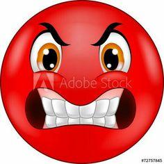 Smiley Emoji, Angry Smiley, Angry Emoji, Emoticon Faces, Funny Emoji Faces, Smiley Faces, Emoticons Code, Funny Emoticons, Smileys