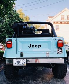 baby blue jeep goes beep beep beep Auto Jeep, Jeep Cars, Jeep Jeep, Old Jeep Wrangler, Jeep Rubicon, Jeep Wranglers, Jeep Truck, Bmw Cars, Chevy Trucks