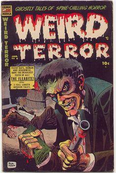 Weird Terror Horror Comic
