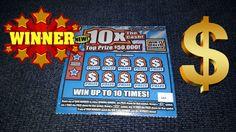 *WINNING TICKET* 10X The Cash NC Lottery