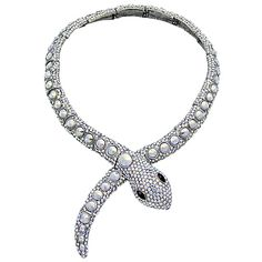 Butler & Wilson Crystal Snake Wrap Necklace £158.00 http://www.butlerandwilson.co.uk/shop?page=shop.product_details&flypage=flypage.tpl&product_id=3426&category_id=34