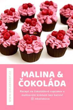 Pro milovníky malin a vláčných čokoládových muffinů :) Mini Cupcakes, Food, Essen, Meals, Yemek, Eten