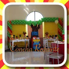 Festa temática urso pooh by Concha Requinte