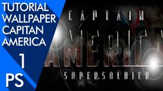1ra Parte Tutorial Photoshop Wallpaper Capitan America   by photoshopstiben