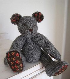 Horace from Natural Nursery Knits - erika knight but knitted beautifully by a fabulous knitter, loved to know by whom.