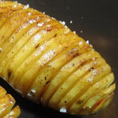 One Perfect Bite: Soy Glazed Hasselback Potatoes - Cooking for Two