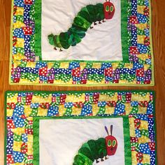 Love The Hungry Caterpillar?, Well your baby will love the little quilt! Great for the car, walk in the park or at night, and a day with grandma!