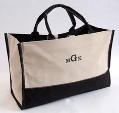 Personalized Small Tote 'Em Bag from Wedding Favors Unlimited