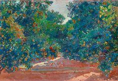 The Athenaeum - Orange Trees in Alcira (Joaquin Sorolla y Bastida - )