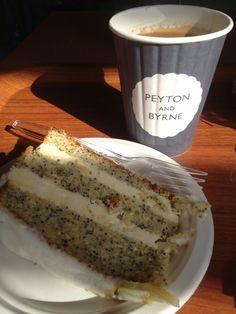 Kew treats - lemon & poppy seed cake by AS