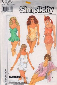 Lingerie Patterns | Sew These Inspiring Vintage Sewing Patterns For An Ultimate Throwback