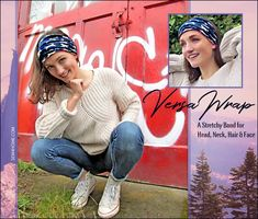 The VersaWrap: A Stretchy Band for Head, Neck, Hair & Face | Sew4Home