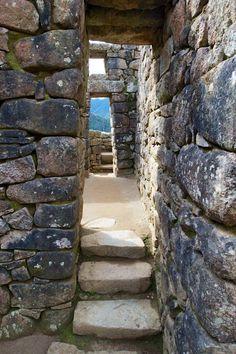 Sacred doorway - Machu Pichu