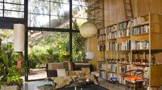 La maison des Eames, photo interieure, le salon
