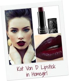 Woke up late? No one will know with this beautiful color on your lips. This vampy, blue toned red will pull your look together when you're feeling, well, not so put together.