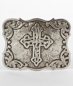 Nocona Cross Belt Buckle #buckle #fashion www.buckle.com