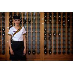 New uniform of four seasons hotel bangkok 39 s doorman with for Uniform spa bali