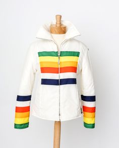 """""""Double Rainbow"""" vintage jacket - like if you remember these!!!"""