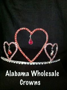 The Dangle Heart Crown