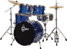 Gretsch Drums Blackhawk 5-Piece Standard Drum Set with Sabian Cymbals Metallic Liquid Blue by Gretsch Drums. $699.00. The Gretsch Blackhawk 5-Piece Standard Drum Set was designed to provide beginning drummers with an affordable, complete Gretsch set. Blackhawk's basswood/poplar shells create full, resonant tone and are finished in attractive and durable gloss wrapped finishes.The set also comes with a hardware pack and even a full Sabian cymbal package. The hardware package f...