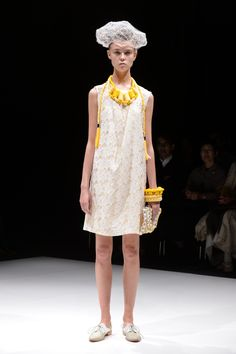 matohu 2013 spring & summer collection look | coromo