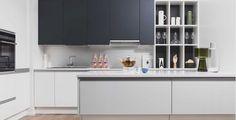 Moderni ja tyylipuhdas kokonaisuus   Puustelli keittiö