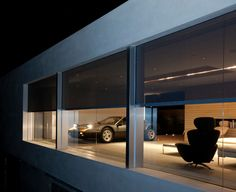 Retractable screens at the ultimate garage ♥ Loved and pinned by www.okanaganscreensolutions.com