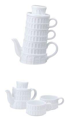 Pisa Tea For Two Set