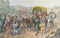Cuadro de la expulsión de los judíos de España, 31 de marzo de 1492